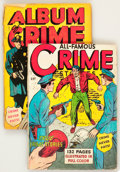 Golden Age (1938-1955):Miscellaneous, Fox Giants Crime Group (Fox Features Syndicate, 1949).... (Total: 2 Comic Books)