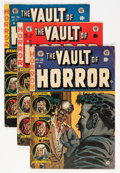 Golden Age (1938-1955):Horror, Vault of Horror Group (EC, 1953-55).... (Total: 8 Comic Books)