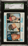 Baseball Cards:Singles (1970-Now), 1973 Topps Schmidt/Cey Rookie #615 SGC 92 NM/MT+ 8.5....