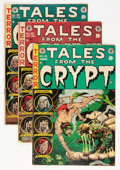 Golden Age (1938-1955):Horror, Tales From the Crypt #36-46 Group (EC, 1953-55).... (Total: 11Comic Books)