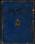 Miscellaneous Collectibles:General, 1936 Berlin Olympics Photograph Book - More than 160 Pages....