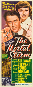 "Movie Posters:War, The Mortal Storm (MGM, 1940). Insert (14"" X 36"").. ..."
