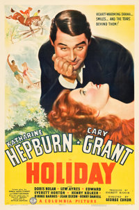 "Holiday (Columbia, 1938). One Sheet (27"" X 41"") Style B"