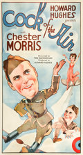 "Movie Posters:Comedy, Cock of the Air (United Artists, 1932). Three Sheet (41"" X 81"").. ..."
