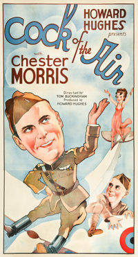 """Cock of the Air (United Artists, 1932). Three Sheet (41"""" X 81"""")"""