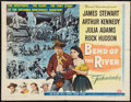 """Movie Posters:Western, Bend of the River (Universal International, 1952). Half Sheet (22""""X 28"""") Style B. Western.. ..."""