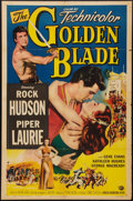 "Movie Posters:Adventure, The Golden Blade (Universal International, 1953). One Sheet (27"" X41""). Adventure.. ..."