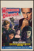 "Movie Posters:Horror, Brides of Dracula (Universal International, 1960). Belgian (14"" X 22""). Horror.. ..."