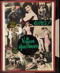 "Movie Posters:Exploitation, A Virgin in Hollywood (Sonney Amusement Enterprises, 1953). Poster (30"" X 40""). Girls Style. Exploitation.. ..."