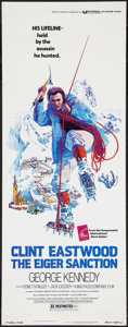 "Movie Posters:Action, The Eiger Sanction (Universal, 1975). Insert (14"" X 36""). Action....."