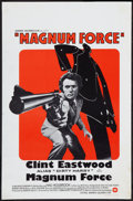 """Movie Posters:Action, Magnum Force (Warner Brothers, 1973). Belgian (14.25"""" X 21.5"""").Action.. ..."""