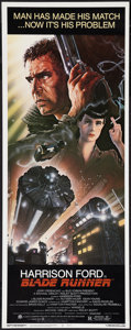 "Movie Posters:Science Fiction, Blade Runner (Warner Brothers, 1982). Insert (14"" X 36""). ScienceFiction.. ..."
