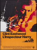"""Movie Posters:Crime, Dirty Harry (Warner Brothers, 1971). French Affiche (22.5"""" X30.5""""). Crime.. ..."""