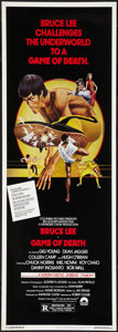 "Movie Posters:Action, Game of Death (Columbia, 1979). Insert (14"" X 36""). Action.. ..."