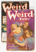 Pulps:Horror, Weird Tales Group (Popular Fiction, 1936-48).... (Total: 2 Items)