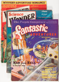 Pulps:Science Fiction, Assorted Bedsheet-Format Science Fiction Pulps Group (Various,1929-39).... (Total: 3 Comic Books)