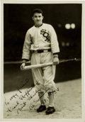 Autographs:Photos, 1934 Al Simmons Signed Photograph by Burke, PSA/DNA Mint 9....
