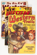 Pulps:Western, Assorted Western and Adventure Pulps Group (Various, 1923-43) Condition: Average VG-.... (Total: 9 Items)