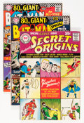 Silver Age (1956-1969):Superhero, 80 Page Giant Group (DC, 1961-67) Condition: Average VF.... (Total: 6 Comic Books)