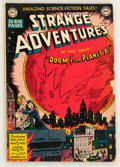 Golden Age (1938-1955):Science Fiction, Strange Adventures #2 (DC, 1950) Condition: VG....