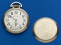 Timepieces:Pocket (post 1900), Illinois 21 Jewel 161 A Elinvar Sixty Hour Bunn Special PocketWatch. ...