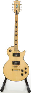 Musical Instruments:Electric Guitars, 1970s Electra Super Rock Lawsuit LP Copy Blonde Electric Guitar,Serial # 2249...