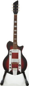 Musical Instruments:Electric Guitars, 1960s Airline Town & Country Redburst Electric Guitar, Serial #G1811...
