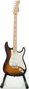 Musical Instruments:Electric Guitars, 2007 Fender VG Stratocaster Sunburst Electric Guitar, Serial #Z7171078...