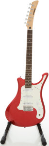 Musical Instruments:Electric Guitars, 2000s Yamaha SGV Series Metallic Red Solid Body Electric Guitar,Serial # Y0507 ...
