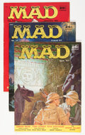 Magazines:Mad, Mad #32, 34, and 37 Group (EC, 1957-58) Condition: Average FN.... (Total: 3 Comic Books)