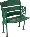 Baseball Collectibles:Others, The Finest Known Polo Grounds Double Figural Stadium Seat....