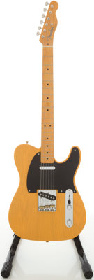 2003 Fender '52 Re-Issue Telecaster Blonde Solid Body Electric Guitar, Serial # 45508