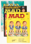 Magazines:Mad, Mad #36, 38, and 40 Group (EC, 1957-58) Condition: Average FN+.... (Total: 3 Comic Books)