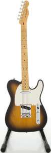 Musical Instruments:Electric Guitars, 2002 Fender American Telecaster Ice Tea Burst Solid Body ElectricGuitar, Serial # Z2131660...