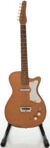 Musical Instruments:Electric Guitars, Circa 1962 Silvertone 1415L Bronze Electric Guitar ...
