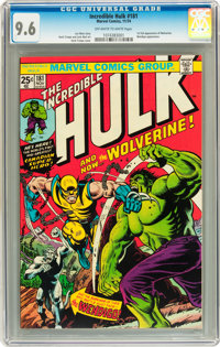 The Incredible Hulk #181 (Marvel, 1974) CGC NM+ 9.6 Off-white to white pages