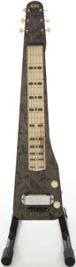 Musical Instruments:Lap Steel Guitars, 1950s Carvin Gray MOTS Lap Steel Electric Guitar...