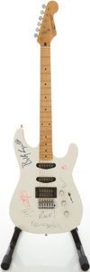 Musical Instruments:Electric Guitars, 1980s Fender Squire II Stratocaster White Solid Body ElectricGuitar, Serial # S915666 ...