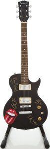 Musical Instruments:Electric Guitars, 1990s California LP Copy Black Solid Body Electric Guitar...