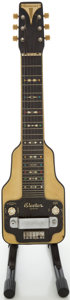 Musical Instruments:Lap Steel Guitars, 1940s Epiphone Electar Zephyr Lap Steel Electric Guitar, Serial # 3780...