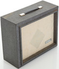 Musical Instruments:Amplifiers, PA, & Effects, 1960s Sears Silvertone 1481 Grey Guitar Amplifier...