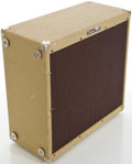 Musical Instruments:Amplifiers, PA, & Effects, 2000s Peavey 115E Tweed Expansion Speaker Cabinet, Serial #00-06596985...