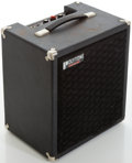 Musical Instruments:Amplifiers, PA, & Effects, 1980s Polytone Mini Brute Black Guitar Amplifier, Serial # 19670...