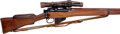 Long Guns:Bolt Action, British No.1 Mk 4 Bolt Action Sniper Rifle with Correct MilitaryScope....