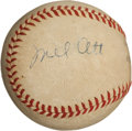 Autographs:Baseballs, Early 1940's Mel Ott Signed Baseball....