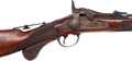 Long Guns:Single Shot, Cased Fine Rare U.S. Springfield 1875 Third Type Officers' ModelTrapdoor Breechloading Rifle. ...