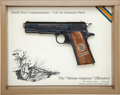 Handguns:Semiautomatic Pistol, Cased Colt Model 1911 WWI Commemorative Semi-Automatic Pistol....
