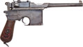 Handguns:Semiautomatic Pistol, Mauser Model 96 Red Nine Semi-Automatic Pistol....