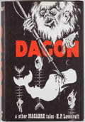 Books:Horror & Supernatural, H. P. Lovecraft. Dagon and Other Macabre Tales. Sauk City:Arkham House, 1965. Later impression. Octavo. 413 pages. ...