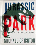 Books:Science Fiction & Fantasy, Michael Crichton. SIGNED. Jurassic Park. New York: Knopf,[1993]. Gift edition, first printing. Signed by auto...
